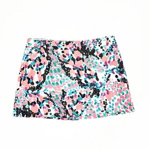 Lily Pulitzer Sweet Nothings Tate Mini Skirt